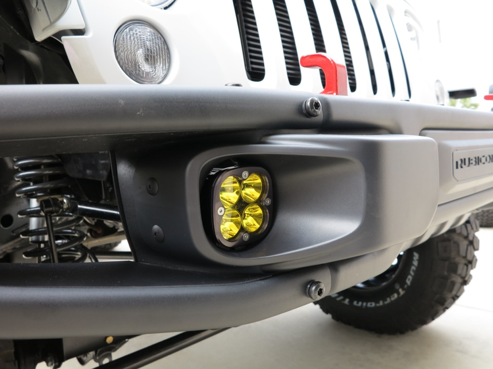 Replace Fog Light Bulbs On Rubicon X 10a Bumpers Jeep